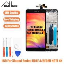 PINZHENG AAAA Chất Lượng Màn Hình LCD Dành Cho Xiaomi Redmi Note 4 4X Màn Hình Hiển Thị Màn Hình Cho Snapdragon 625 MTK Helio X20 Màn Hình LCD Thay Thế màn Hình Hiển Thị