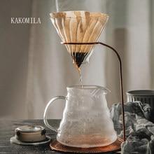 Kaffee Tropf V60 Gießen Über Kaffee Topf Hand Brauen Töpfe Kaffee Filter Tasse Kaffee Wasserkocher Tropf Stehen Kaffee Maker Set