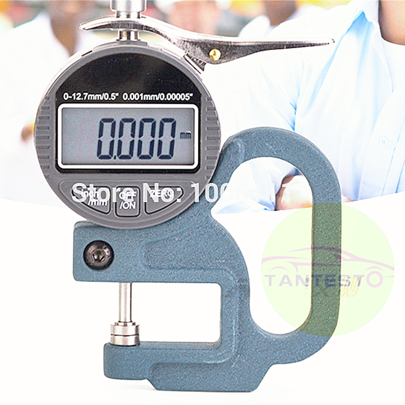 Digital Display Micrometer Thickness Gauge Measurement Tool For Common Rail Injector Shims  Common Rail Injector Repair Tool|  - title=