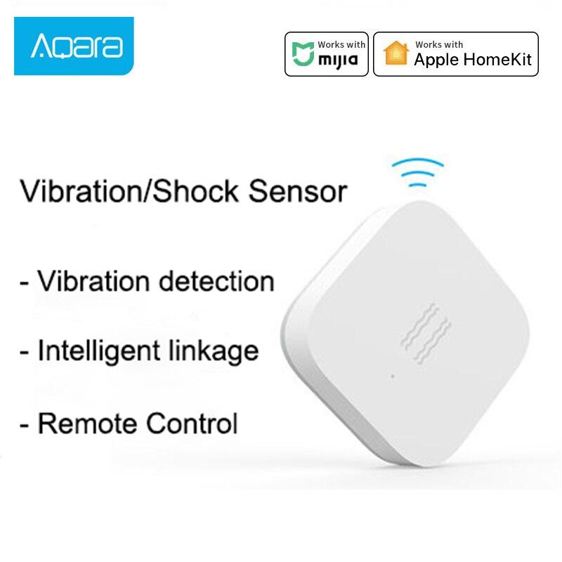 Hot Aqara Smart Motion Sensor Vibration Detection Alarm Monitor Zigbee Shock Sensor For Mijia Gateway 3 Hub Xiaomi Mi Home App