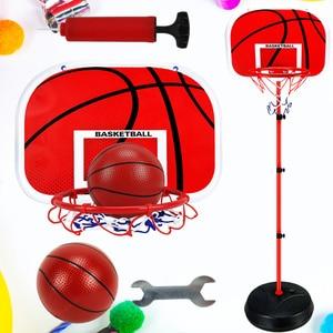 1 Set Childrens Basketball Set Racks Basketball Frame for Sports Training Indoor