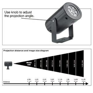Image 4 - Светодиодный прожектор, водонепроницаемый, 3 Вт