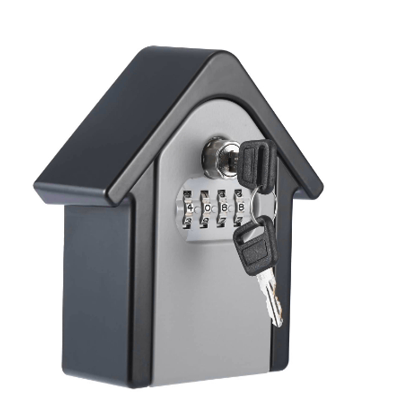 New Keybox Lock Key Safe Box Outdoor Wall Mount Combination Password Lock Hidden Keys Storage Box Security Safes For Home Office