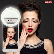 Мобильный телефон мигает и подсветка для селфи кольцо для IPhone XS Max XR X 8 7 Plus samsung Galaxy S9 S10 S8 смартфон камера светодиодная вспышка
