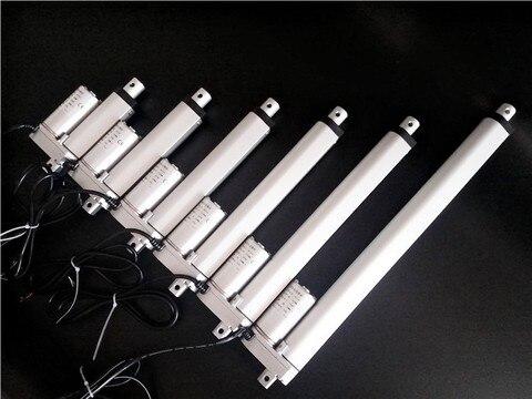 atuador linear eletrico atuador linear eletrico de 12v 24v dc 20 30 50mm abridor de