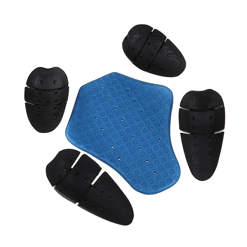 Motorcycle Riding Detachable Armor Shoulder & Knee & Back Protection Pads