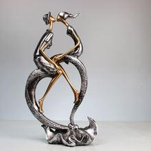 Свадебная скульптура статуи из смолы для домашнего декора/украшения