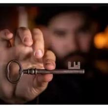 Assombrado key deluxe pela magia de murphy-truques de magia