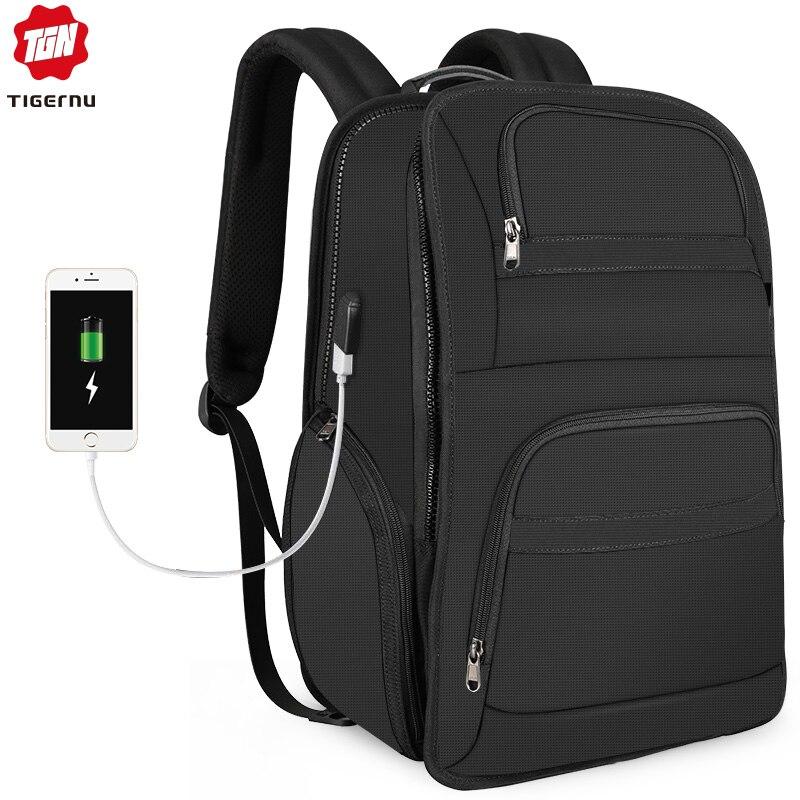 """Bagaj ve Çantalar'ten Sırt Çantaları'de 2019 yeni Anti hırsızlık seyahat 15.6 17 """"dizüstü sırt çantaları erkek Mochila RFID suya dayanıklı rahat sırt çantaları erkek kadın'da  Grup 1"""
