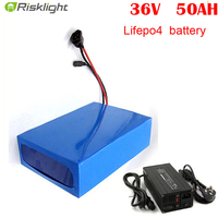 Deep cycle LiFePO4 lithium ion battery 36v 50ah ebike battery for electric bike|Electric Bicycle Battery|Sports & Entertainment -