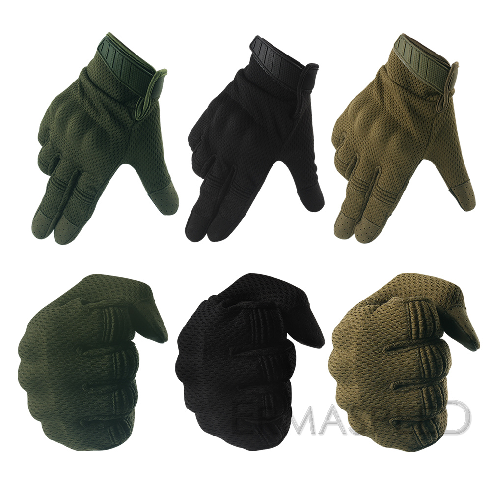 Image 5 - Breathable Motorcycle Gloves Tactical Military Racing Riding Gloves Winter Motocross Enduro ATV Touch Screen Men Biker Gloves-in Gloves from Automobiles & Motorcycles