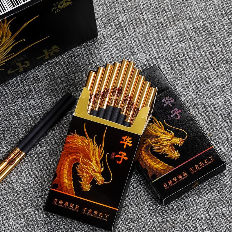 Nouvelles Cigarettes à base de tisane pour hommes et femmes, fumée de tabac saine sans Nicotine