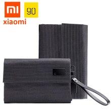 מקורי XiaoMi עמיד למים תיק אלקטרוניקה אביזרי ארגונית תיק 600D אוקספורד נייד תיק עבור כבל אוזניות טלפון MI6 5S