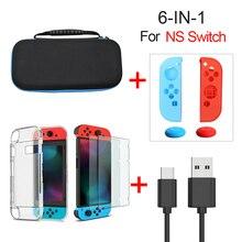 Para nintend switch console para ns nintend interruptor acessórios caso durável caso de casca dura portátil