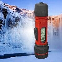 휴대용 겨울 어군 탐지기 무선 에코 사운 더 0.8-90m 깊이 디지털 핸들 변환기 센서 음파 탐지기 얼음 낚시 fishfinder