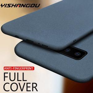 Sandstone Slim Rubber Matte Soft Case For Samsung Galaxy S20 FE Note 20 10 Ultra A50 A70 A51 A71 A21S M31 S8 S9 S10 Plus A31 M51
