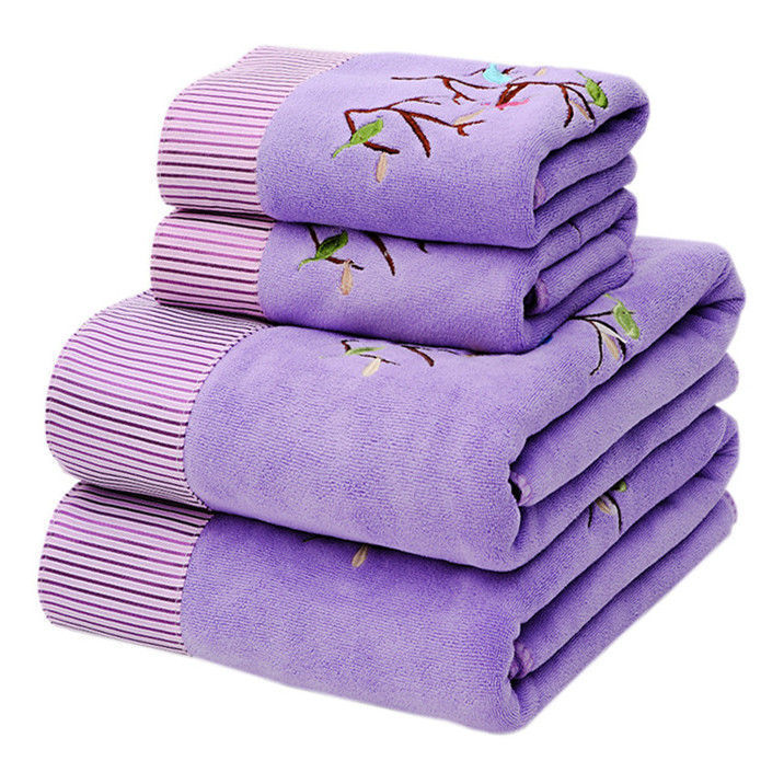[Half-Price Rob 1000-Piece] Towel Bath Towel Set Men And Women Adult Soft Thick Children Than Water-Absorbing