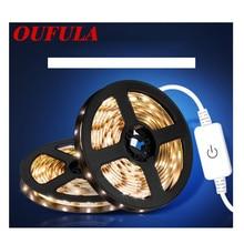WPD  USB Touch LED Strip Waterproof Soft Light With Wardrobe Light Bedside Living Room Night Light
