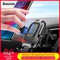 Baseus 10W Qi Caricabatteria Da Auto Senza Fili Per Samsung S10 iPhone X Sensore A Infrarossi Intelligente Veloce Senza Fili di Ricarica Del Telefono Per Auto supporto