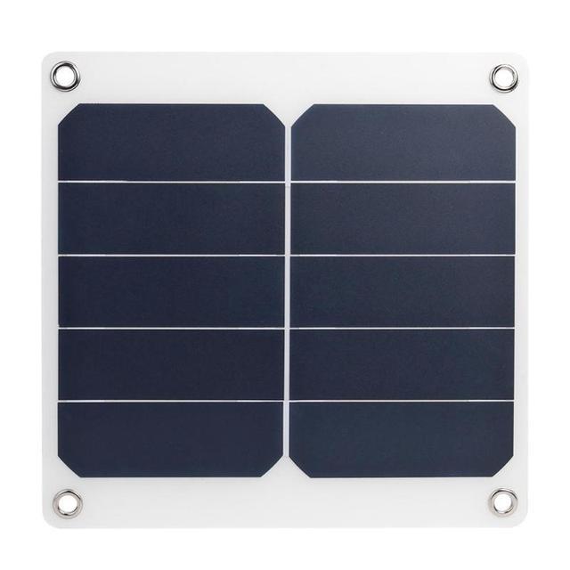13W 5V panneau solaire sécurité qualité supérieure fiable chargeur de charge polyvalent USB haute puissance chargeur de sortie pour téléphone