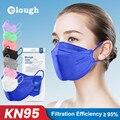 Elough FFP2 Mascarillas KN95 сертифицированные взрослые Mascarilla fpp2 homologada Корейская ffp2mask CE ffp2 сертифицированные маски fpp3