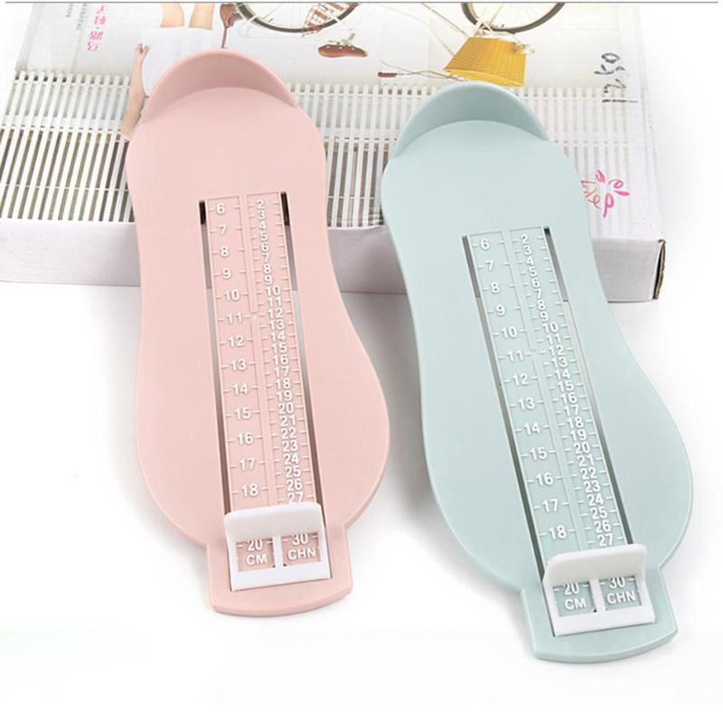 Practical Infant Baby Feet Length Growth Measuring Ruler Durable Adjustable Subscript Foot Tool Accurate Measurement Meter