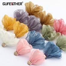 Gufeather f147, acessórios de jóias, pingente diy, forma de flor, feito à mão, descobertas de jóias, brinco diy, fazer jóias, 10 pçs/lote