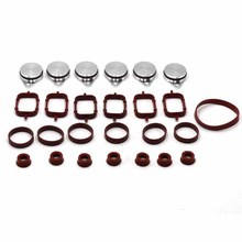 Вихревые заслонки Пластина& Впускной впускной коллектор прокладка уплотнения для BMW M57 E39 E60 E46 E38 E53 E83 E65 E61 E65 E70 E71 E92 X3 X5 X6
