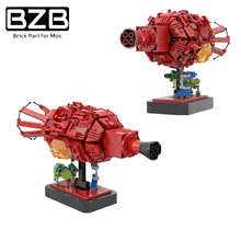 BZB MOC 43503 Red Planet And Universe Insect Model Decoration Universe Planet Mysterious Planet Monster Kids Boys Gifts DIY Toys