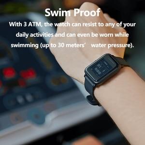 Image 5 - Amazfit smartwatch bip lite, versão global, leve, resistente à água até 3atm, com 45 dias de modo de espera, gps