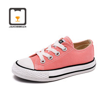 Kids daily Casual Canvas Shoes for Girls Boys Children Sneakers Toddler(China)