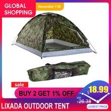 Lixada Outdoor Tent Voor Winter Vissen Camping Reizen Tent Voor 2 Persoon Strand Tenten Voor Camping Lichtgewicht Camping Apparatuur