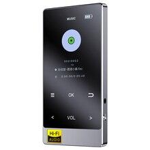 新到着ポータブル Bluetooth ミニ MP3 ハイファイプレーヤーロスレス音楽プレーヤー 2.4 インチのタッチスクリーンウォークマンサポート OTG AIFF TF x3
