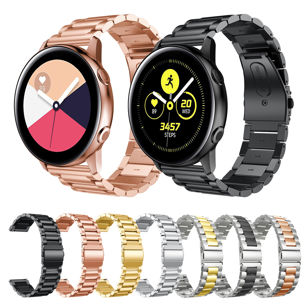 Metal Stainless Steel Watch Band For Samsung Galaxy Watch Active 2 Strap For Samsung Watch 42mm/Gear S2 Classic Bands Watchband