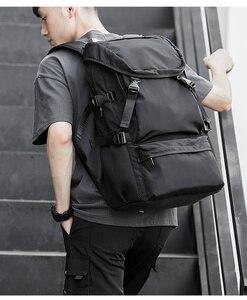 Image 2 - MOYYI 2019 nouveau Style sacs à dos léger avec grande capacité détachable rabat deux en un sacs à dos hommes sac
