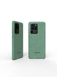 Image 5 - 100% Original GENUINE Samsung S20 Ultra Case For Galaxy S20Plus S20 + Alcantara Cover Leather Premium Full Protect Cover 5 color