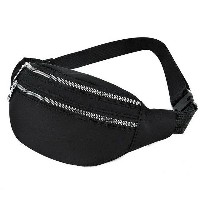 2020 New Waist Bags Waterproof Pack For Women Fashion Bum Bag Ladies Travel Crossbody Chest Bags Unisex Hip Bag Belt Purse 5