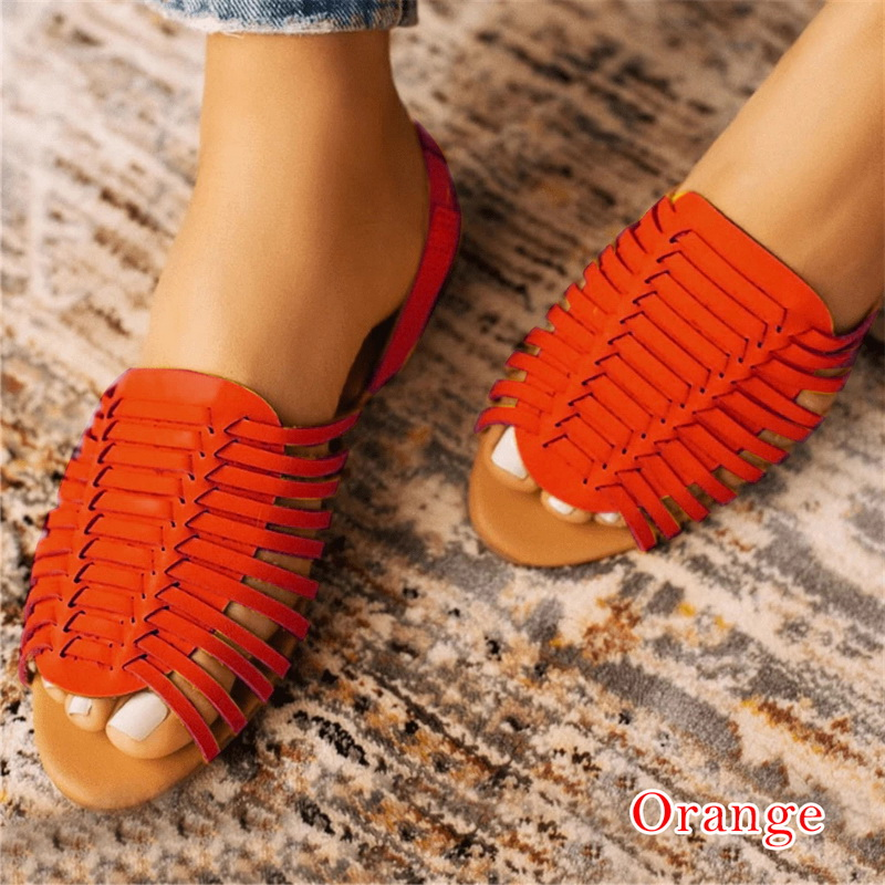 SHUJIN Sandals Woman Shoes Braided Rope With Traditional Casual Style And Simple Creativity Fashion Sandals Women Summer Shoes