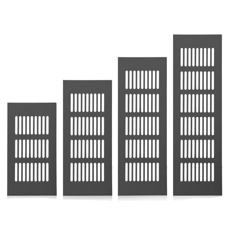 Steel Air Vent Decor Cover Furniture Cabinet Ventilator Perforated Sheet Ventilation Grille Vents Square Floor Drain Hardware