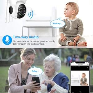 Image 3 - Hiseeu أمن الوطن 1080P 3MP واي فاي كاميرا IP الصوت سجل بطاقة الذاكرة SD P2P HD CCTV مراقبة كاميرا لا سلكية مراقبة الطفل
