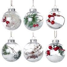 Рождественская елка, кулон, домашний фестиваль, настольный орнамент, Рождественский Мячик с эльфом, дерево, садовое украшение, Подвесные Подарки для детей, Natale Decorazioni