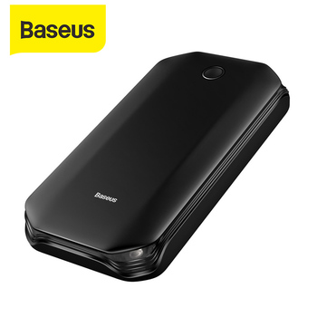 Baseus Emergency Car Jump Starter Power Bank 8000mAh 12V Car Booster Battery Jump Starter for Vehicles Mobile Phones Portable