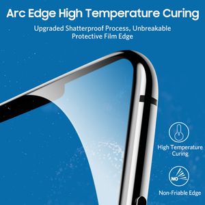 Image 2 - Benks VPro 0.3 Mm Kính Cường Lực Cho iPhone XS 5.8 XS Max 6.5 XR Bảo Vệ Màn Hình Chống Xanh Dương kính Mắt Glass Full Cover Trước Bộ Phim
