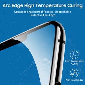 Image 2 - Benks protector de pantalla de vidrio templado para IPhone, protector de pantalla de vidrio templado de 0,3mm para IPhone XS 5,8 XS MAX 6,5 XR, película frontal de cubierta completa de vidrio Anti rayos azules