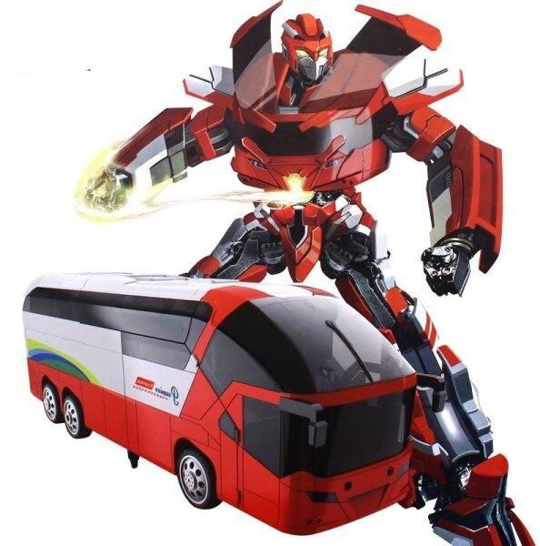 RC Transformer MZ Red Bus 1:14 2372P-R