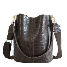 Женская сумка через плечо ansloth из крокодиловой кожи брендовые