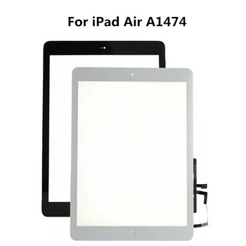 Replacement Touch Screen Digitizer Home Button For iPad Air A1474 A1475 Replace Tablet Screen lcd Screen image