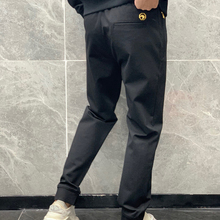 Billionaire Pants men Golden metal cotton 2021 new Thick fashion casual high quality embroidery breathable designed M-XXXL