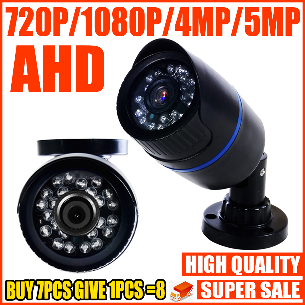 REAL SONY-IMX326 720P 1080P 4MP 5MP AHD MINI CAMERA 2MP Digital FULL HD CCTV Security Surveillance Home Outdoor Waterproof IP66