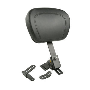 Motorcycle Driver Rider Backrest Pad For Harley Touring Road King Street Electra Glide FLHR FLH 1997-2020 One-Piece Slotted Seat